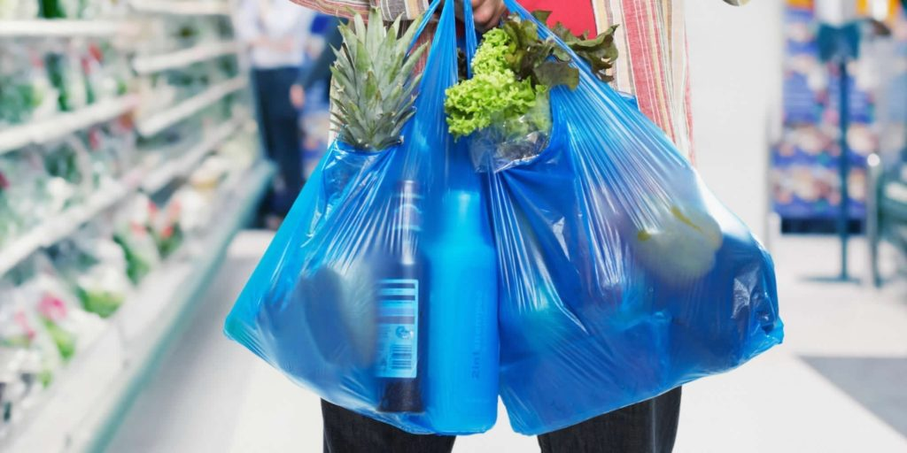 how are plastic bags made?